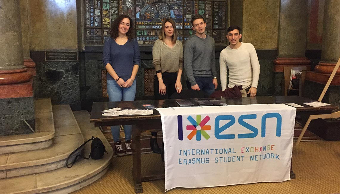 Project - information campaign for the Erasmus+ program among students